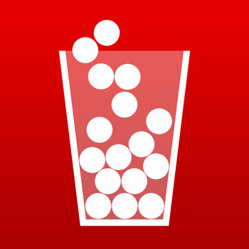 100 Balls - Over 17,000,000 downloads worldwide!\'100 Balls\' is a simple but addicting app. Test your reaction in a single tap game with a realistic physics engine.Tap on screen to open the pot. Your purpose is to fill the moving cups with falling balls. Filled cups will return balls to the pot. Empty cups will be unhooked from the moving chain. The game ends when all balls or cups are lost. Each level speeds up the cups. On higher levels cups will change color. Colored cups produces higher value colored balls. The longer you remain in the game, the more points you receive.Now with a new multiplayer feature. Create your game. Play it and challenge others to beat your score on your created game.• Physics engine;• Single tap control;• Short game (~5 min.);• Challenge mode with 30 game maps;• Multiplayer;• Leaderboard;• Achievements;• Sounds and music.