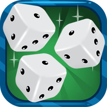 10000 Free - The game of 10000 is a popular dice game that exists in many forms. This version uses 6 dice and some criteria can be adjusted to meet various rules that exist around the world.Rule of the game :The goal is to reach 10,000 points.A player can roll the dice as long as he gets points.If a throw gives points, the paying dice can be banked. The remaining dice can be relaunched or the player can decide to validate his points. Dice put in reserve can not be combined with the next dice throws.If all dice are paying, the player gets a full house. It keeps the points accumulated during the previous full hand and must raise all the dice.If a throw does not give points, the round ends and the score obtained in previous throws is lost.To put a die in reserve, touch the die or move it in the upper area of ??the carpet.To remove a die of the reserve, move it to the playing area. Only dice throwing current can be removed from the reserve.Scoring:- Each one alone is worth 100 points.- Every 5 alone is worth 50 points.- 2, 3, 4 and 6 only are worthless.- A 1,2,3,4,5,6 result in one run, worth 1200 points.- 3 pairs in one run worth 600 points whatever the dice forming pairs.- Three of a kind (3 identical dice) in one throw is 100 times the value of the dice, except for a set of 1 which is worth 1000 points.- A square (4 identical dice) in one throw is 200 times the value of the dice, except for a square of 1 which is worth 2000 points.- A fifth (5 dice identical) in one throw is 400 times the value of the dice except for one fifth of 1 which is worth 4000 points.- A sextet (6 identical dice) in one throw is 1000 times the value of the dice, except for a sextet of 1 which directly win.options:Various options are proposed to pigment the parties or to adapt the game to the rules you used to practice.- Qualifying score: give the minimum score to achieve before returning to the game.- Suite 1,2,3,4,5,6: change the number of points for a suite obtained in a single run.- 3 pairs: modify the number of points for 3 pairs obtained in a single run.- Finish 10000 stack: to win, it will reach exactly 10000 points, you can not validate the score if you exceed 10000.