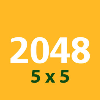 2048 5x5 - NEW EXTREME CHALLENGE IN 2048!!!2048 now too easy for you? Try 2048 5x5 with more board space. You can make thousands times more than 2048 tiles
