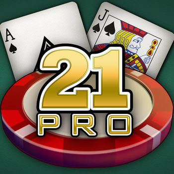 21 Pro: Blackjack Multi-Hand - Shuffle up and deal! It's time to take it to the house with 21 Pro: Blackjack! Play for FREE and enjoy the authentic experience today! Win the progressive jackpot with a Triple 777\'s hand.  Get our app and start a Blackjack 21 hot streak now!- Win the PROGRESSIVE Jackpot!- Play multiple hands at once with our multi-hand option!- Set the table limits for high stakes action & reload anytime you need chips!- Become a pro with FREE lessons and tips! - Ask the dealer for advice and improve!- Customize your cards and table for the! perfect Vegas casino setting!- In-depth stats to help you track your progress!- Players Club: Earn rewards and bonuses with every hand you play!The FREE Fun Vegas Casino Experience on the go!  Don\'t forget to check our Slots, Slot Machine and other casino apps, including blackjack, roulette, craps and poker.