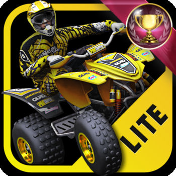 "2XL ATV Offroad Lite - From the makers of ""2XL Supercross"" comes the hottest action-packed racing game to hit the iPhone and iPod Touch… ""2XL ATV Offroad Lite""KEY FEATURES- Unique ATV Outdoor Nationals track - Achievement system- 250cc two-stroke and 450cc four-stroke ATVs- Auto-gas and invisible controls feature- 1st and 3rd person camera views- 8 preset control schemes including Responsive Tilt Steering - View profile statistics and leader boards at blackboxinteractivelive.comNATIONALS TRACKSee how far we've pushed the graphics envelope as you ride the new outdoor Nationals track. Tear up and down huge mountains with beautiful views of the horizon.ACHIEVEMENTSThe all-new achievement system challenges you to unlock 100% of the skill-based goals in the game. Compare your trophies with your friends online.REAL REWARDSSign-up for Real Rewards to win real-world discounts, prizes and more! Simply tell us who you are and what you like, and you\'ll be rewarded based on performance in the game. Start winning today!STATISTICS & LEADERBOARDSSee how you stack up against the competition in your quest to be the best on wheels. Sign up for a free BlackBox account and all your game statistics will be viewable at blackboxinteractivelive.com. Watch the game trailer at www.2xlgames.com/atvCheck out 2XL Supercross at www.2xlgames.com/supercross"