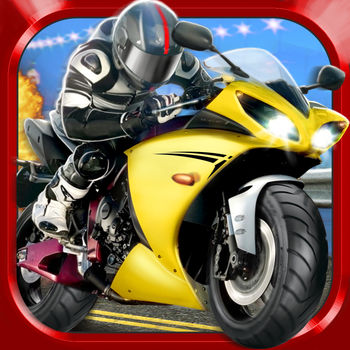 3D Motor-Bike Drag Race: Real Driving Simulator Racing Game - Are you ready to enter the world of illegal bike racing! If yes, then get ready for some serious action! You'll have to make it to the finish line as quickly as possible. You also have a wide selection of your 2 wheels. A city scooter or a roaring monster bike? It's all up to you. But whatever you choose, make sure you don't drive into any crates, containers or construction cones! If you're feeling brave (or reckless) enough you can hit that NOS button that will help you to leave all the opponents behind! See you at the finish line!Game features:- opponents with high  AI- intuitive controls- if you crash you can continue from the same point- beautiful 3D graphics- online leaderboard