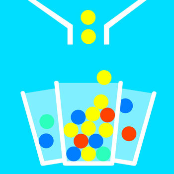 A¹ 100 Balls -Make Ball Fall &Catch Them with 8 Circle Cups - Fall Balls is simple,fun and addicting. It need some strategy to balance all cups and quick reflex to catch the falling balls. Game Description: 1. Appear around the screen up to 8 clockwise-rotaion cups 2. Cup start color is white, the latter will turn green, blue and red. red the highest score 3. Tap or slide the screen to open the container. 4. Will be lost if the ball fell to the ground. 5. If the cup does not get the ball, will be removed 6. When all the balls are dropped on the floor, or all of the cups are removed, the end of the game