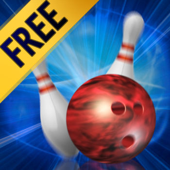 Action Bowling Free - ACTION BOWLING 2 NOW AVAILABLE!!Action Bowing Free - the best bowling game on iOS. Now with over 30 million downloads!*************************************Game Review:Kronos\'s Action Bowling Rolls a Perfect Game... There are several bowling games in the App Store...none is in the same league as Action Bowling, from Kronos Games. It's about as close to real bowling as you're going to get on the iPhone and iPod touch. - AppCraver.com*************************************Action Bowing is the best and most feature packed bowling game on iOS. It is the only bowling game in the App Store that features :• 12 outrageous bowling locations• 36 unique custom bowling balls• Options to create your own custom ball from camera snapshots or photo library• Listen to your own music on the iPhone or iTouch while playing Action Bowling• State-of-the-art 3D physics engine for real pin action• 4 different bowling style settings  - straight, curve, hook and custom• 3 different ways to bowl - flick, gesture and Wii-like motion bowling• Pass and Play Mode so you can bowl against 3 friends• Practice mode so you can set up a custom rack to practice knocking down those tricky splits • Bowling Trivia featuring 165 questions guaranteed to stump the most seasoned pros• Detail stats tracking • Bowling alley, bowling ball and pins built according to PBA  regulation specifications• Stunning 3D graphics • Full music tracks and robust sound effects