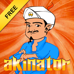Akinator - In order to begin the questionnaire, the user must hit the play button and think of a popular character (musician, athlete, political personality, actor, fictional film/TV character, YouTuber, Viner etc.). It then begins asking a series of questions (as much as required), with