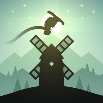Alto's Adventure - Above the placid ivory snow lies a sleepy mountain village, brimming with the promise of adventure.\