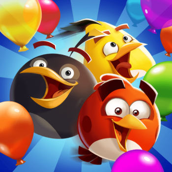 Angry Birds Blast - Play an all-new Angry Birds tap-to-match game! The pigs have trapped the Angry Birds inside colorful balloons! Pop matching balloons to set the birds free and stop the pigs in this addicting puzzle-adventure.At It AgainUse your balloon-blasting skills to outsmart the pigs in over 250 fun levels! Find the smartest way to solve puzzles, crack high scores, and earn three stars in every level.Balloon-Bursting BoostersUse boosters to blast tons of balloons, glass, wood and more! Match 5, 7, or 9 bubbles to create rockets, bombs, and laser guns! Combine boosters for even more devastating combos.Daily ChallengesJoin the daily challenges to clear as many pigs as you can and earn rewards and boosters. Blast more pigs to climb the global leaderboard and reach the top.Fun with FriendsConnect to Facebook and challenge your friends. See who's better at freeing the birds, and get help from your pals on your journey to stop those pesky pigs!Features:– The Angry Birds embark on a brand-new puzzle adventure!– Play over 250 fun levels – with more added all the time– Easy to pick up and play any time!– Tease your brain with challenging & strategic gameplay– Use amazing boosters & power-ups including slingshots, rockets, laser guns and bombs– Play daily challenges and earn rewards and boosters– Connect to Facebook and play with friends!– Earn 3 stars with high scores and claim your spot on the global leaderboard– iMessage Stickers! Give your messages a little Blast with new Angry Birds Blast stickers for iMessage including 3 stickers designed by our fans!Terms of Use: http://www.rovio.com/eulaPrivacy Policy: http://www.rovio.com/privacy