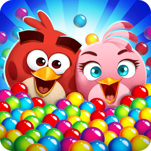 Angry Birds POP Bubble Shooter - Match and pop colorful bubbles in over 1000 captivating levels!––OVER 25 MILLION DOWNLOADS!––A huge thank you to our fans for allowing us to reach 25 million downloads! We promise much more bubble-popping fun to come.Join Stella, Red, Chuck, Bomb, and the rest of the Angry Birds in an extra addictive bubbleshooter bursting with an nearly endless supply of challenges! Pull off trick shots and popping streaks to activate special pops with unique powers. Those special pops will come in handy when you're rescuing the utterly adorable Hatchlings, or dropping those pesky piggies across the winding level map. Connect to Facebook and compare scores with friends, or if you're feeling generous, you can always send them some gifts!FEATURES:○ Super easy to pick up and play.○ Over 1000 levels! New levels added every week.○ Regular updates with fun seasonal themes.○ With different level types, you'll never get bored.○ Beautiful graphics and animations. Everything is bursting with color!○ Pop many bubbles in a row to unlock special pops with unique benefits.○ Complete daily challenges for special bonuses.○ Connect to Facebook to challenge friends and send gifts.○ Play as and guest characters with their own special pops.○ Use Boosters when you need a helping hand.-----------------------------Need some help? Visit our support pages, or send us a message! https://support.rovio.com/Like us on Facebook: https://www.facebook.com/angrybirdspop/-----------------------------Angry Birds Pop! - Bubble Shooter is completely free to play, but there are optional in-app purchases available. Either way, it's tons of fun!Terms of Use: http://www.rovio.com/eulaPrivacy Policy: http://www.rovio.com/privacy