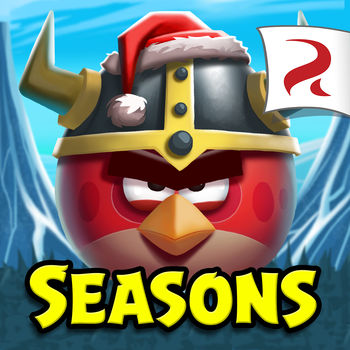 Angry Birds Seasons - Join the Angry Birds as they celebrate unique seasonal events from around the world! Enjoy the addictive physics-based Angry Birds gameplay you love, but with an exciting seasonal twist. For the latest update, a lone slingshot rises to answer the Viking Pigs' call for battle in a new advent style episode: Ragnahog! LATEST EPISODE: Ragnahog Play a new Viking-themed level from Dec. 1st through the 25th. – 25 new levels + 2 new Golden Egg Levels! – Terence's Nordic cousin Tony visits for the holidays! – New quests and achievements! In addition to the Ragnahog chapter, download and enjoy: - 31 THEMED EPISODES (plus cool bonus stuff)! - 925+ LEVELS of pig-popping action! - UNIQUE POWER-UPS that give you the edge in tricky levels! - SURPRISE EGGS! Collect Four Stars (yes. FOUR!) in four hand picked classic levels during the week and hatch a surprise egg full of prizes just in time for The Pig Challenge! - THE PIG CHALLENGE! Unique weekend tournaments where you and your friends can see who\'s the best bird flinger! It\'s like Pig Days, but with friends! With over 2 billion downloads, Angry Birds is the most popular mobile game series of all time. Join the global phenomenon! ----- Become a fan of Angry Birds on Facebook: http://facebook.angrybirds.com Follow us on Twitter: http://twitter.angrybirds.com Terms of Use: http://www.rovio.com/eula Privacy Policy: http://www.rovio.com/privacy *Notes: Angry Birds Seasons includes optional in-app purchases. This game may require internet connectivity and subsequent data transfer charges may apply. ----- Important Message for Parents This game may include: - Direct links to social networking websites that are intended for an audience over the age of 13. - Direct links to the internet that can take players away from the game with the potential to browse any web page. - Advertising of Rovio products and also products from select partners. - The option to make in-app purchases. The bill payer should always be consulted beforehand.