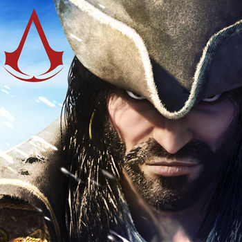 Assassin's Creed Pirates - ***More than 10 million pirates already******More than 200 million heroic naval battles fought***One of the world's greatest action franchise is available on your mobile device! Become one of the most feared pirates of the Caribbean in this exclusive Assassin\'s Creed adventure!  Play as Alonzo Batilla, a young and ambitious pirate captain, break the rules, challenge empires and amass gold! ENGAGE IN BRUTAL NAVAL COMBATSFight in real-time naval battles all over the Caribbean Sea.Choose from a wide range of weapons from the pivot cannon to the mortar, to destroy your foes and manoeuver to dodge enemy shots. Show your skills, defeat legendary ships in battle and become a true pirate legend!BUILD UP YOUR CREW AND YOUR SHIPRaise your flag on the most iconic boats of the Golden Age of Piracy; ranging from the smallest ship to the Man O'War floating fortress.Upgrade your vessel with legendary customizations and the massive bounty plundered on the wild seas.Build your naval empire by recruiting the finest crew members and learn more than 50 new pirating techniques, cannon & sail upgrades to become a better captain and master naval battles.EXPLORE THE IMMENSITY OF THE CARIBBEAN... AND MUCH MORE!Sail throughout a vast array of islands as you explore a huge map.Search for nearly one hundred treasures and lost files.Run through dozens of lost Mayan temples, dodge obstacles using epic assassin's parkour moves and collect mayans stones. Parkour temples to find the fragments of ancient treasure maps.Hunt sharks, whales and exotic fish to never run out of supplies.Furnish your fish collection with marvelous sea trophies, from small fry to massive sharks. Live the epic pirate life, raise the black flag and loot a merchant ship loaded with gold or set sail on quest to battle a slave ship.Beware of the English empire and the Spanish crown and their powerful master ship, as a pirate you are always on the run.Compete with your friends for the highest bounty.DISCOVER GROUNDBREAKING 3D VISUALS ON MOBILE AND TABLETSBask in the West-Indies sunshine, admire beautiful sea sunsets, navigate ice mazes and sail through the night along breathtaking coastlines.Changing weather conditions directly impact the way you run your ship and redefine every landscape. Beware of storms and of the treacherous fog that will conceal your enemies until the last moment!Master the sea to become the most skillful pirate of the Caribbean Sea and be victorious in battles.EMBARK ON AN EPIC QUEST FOR A LEGENDARY TREASURELive a naval adventure that will reveal the truth about the mysterious lost treasure of the famous French pirate and assassin La Buse.Cross paths with Assassins and Templars and take part in their age-old struggle.Meet the most notorious and colorful pirates of the era, including Sam Bellamy, Ben Hornigold, Charles Vane and Blackbeard!Game available in: English, French, Italian, German, Spanish, Brazilian Portuguese, Chinese, Japanese, Korean, Russian, Turkish and IndonesianStay on top of your game! Get the latest news, deals, and more at....FACEBOOK: http://facebook.com/UbisoftMobileGames TWITTER: http://twitter.com/ubisoftmobileYOUTUBE: http://youtube.com/user/Ubisoft• This game is free to download and free to play but some game items can be purchased for real money. You can disable in-app purchases in your device\'s settings.
