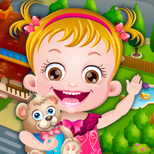 "Baby Hazel Dream World - Do you want to be a friend of adorable Baby Hazel? She is a cute little baby, who wants to be your friend and spend a blissful day with you. She invites you to enjoy a lot of fun-packed games and activities with her. So, join darling Hazel and explore a magical dream world full of surprises. Care for Baby Hazel and keep her happy by fulfilling all her needs. Give her a bubbly shower and dress her up in cute-looking outfits and accessories. Feed delicious desserts, meals, juices and fruits to Hazel. Don\'t forget to clean her teeth after every meal. And if little princess is tired, take her to the bedroom and put her to sleep.  ""All work and no play makes Jack a dull boy"" So take your little friend to the park to play fun mini-games such as toy crane, basketball and more. Have fun playing on swing. Hazel is fond of ice-creams! Take her to the food stall to feed her flavored ice-creams. Check out Baby Hazel\'s different facial expressions for giggles! She will make amazing facial expressions, according to the toy you give her. Oh yes! Don\'t miss to take up the \'Daily Challenge\' and win rewards and coins!!!Awesome game features : •Hazel has a style! Tons of stylish outfits and accessories to get Hazel ready for the day.•Own three different cute naughty pets and care for them.•Watch TV or read books to enjoy fun educational games.•So many delightful ingredients in kitchen! Show off your cooking skills and prepare delicious treats for Hazel.•An awesome collection of décor items. Have fun decorating Hazel\'s room.•Give surprise toys to watch Hazel\'s amazing facial expressions.•Go along with Hazel to park to enjoy lots of games, yummy treats and play on swings.•Don\'t miss to explore the swimming pool! Many interactive and magical objects awaits you and Hazel. Explore it by yourself! •Play fun min-games at park to earn rewards and coins.By downloading this game, you are agreeing to our terms of use which can be found at [http://www.babyhazel.com/terms-of-use/] and our privacy policy which can be found at [http://www.babyhazel.com/privacy-policy] © 2015 Axis Entertainment Limited. All Rights Reserved.© 2015 Axis Entertainment Limited. Babyhazelgames.com, Baby Hazel, and all related characters, music, and images are licensed trademarks and copyrights owned or used under license by Axis Entertainment Limited and are protected by international copyright laws. Baby Hazel is a trademark of Axis Entertainment Limited in the United States and other jurisdictions. All rights reserved.Visit us – http://www.axisentertainment.org/Follow us – https://twitter.com/topbabygamesLike us – https://www.facebook.com/topbabygamesWatch us - https://www.youtube.com/user/babyhazelgamesGoogle Plus - https://plus.google.com/+TopbabygamesBabyHazel/posts"