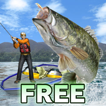 Bass Fishing 3D on the Boat Free - Dynamic bass boat driving, real lure action, and breathless excitement!The full 3D bass fishing game has finally arrived!!*Features of Free Version -You can select 5 types of fishing lures.-Advertisements will be shown throughout the game. FEATURES: You can steer your bass boat freely.Find your own casting point by driving bass boat dynamically!There are 4 kinds of game mode: Online Tournament, Tournament, Challenge, and Free fishing.Even beginners can feel reassured with hint systems!Use sonar to detect shadows of fishes, so you can able to find fishing point more faster.There are 6 Fishing Fields!!(Except Thunder Lake and Circle Lake. You have a limit of play time.)There are over 10 different kinds of fishes you can catch!!There are five varieties of lures (top, shallow, deep, bottom) to choose.Seek out the right climate and time frame, then catch the big bass.Camera will change to an underwater camera when you are retrieving.You can see real lure\'s action and tactics of the bass.Because of the full 3D, it makes you feel a real performance.We are sure that it\'ll be a breathless excitement.During the fight, you\'re also given advice on how to handle the rod.Challenge mode added! You can enjoy thrilling fishing experience under the time, season, climate, etc.Let\'s have fun sport fishing!!