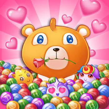 Bear Pop : Ready? 3 2 1 - Bear Pop is One of Bubble shoot game that has been recommended by iTunesJoin Dessert Bear as he travels through the Kingdom, plan your every pop to rebuild kingdom and help the fairies in this exciting bubble shooting puzzle adventure. In this sweet and diverse bubble adventure, you will meet plenty of different stage modes, BOSS and enemies; You need use Bubble, magical spells, or help of Facebook Friends to clear the bubbles to rescue the fairies trapped inside and eliminate the evils on top. The less number of shoots you make, the more scores you\'ll get.There are daily rewards and achievements and kingdom rebuild mode waiting for youBear Pop is completely free to play but some optional in-game items will require payment.Bear Pop features:– More than 380 magical bubble shooting Levels -more added every 2 weeks!– New Kingdom Rebuilding modes– Free & easy to play, challenging to master!– Complete daily challenges for special bonuses.– Available to play on iPhone and iPad devices– Easily sync the game between devices when connected to the Internet– Use Magic Bubble when you need a helping hand.PLUS:This game is social! Connect to Facebook & play Bear Pop with friends!Enjoy special rewards & events all the time!Enjoy this exciting bubble shooter puzzle game brought to you by Color Deer! Shooting bubbles has never been this fun!Get poppin\' on your iPhone or iPad todayLIKE: On Facebook to get the latest news and rewards!https://www.facebook.com/bearpoppopFind bugs and provide good suggests, and you will get a big gift.Tap the \