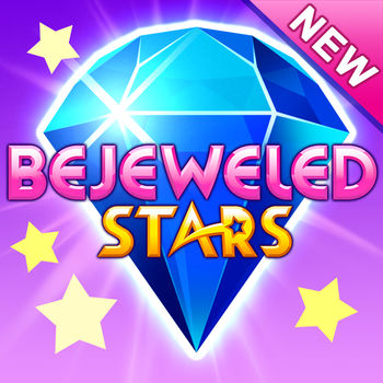 Bejeweled Stars - Be brilliant in Bejeweled Stars, a brand-new match-3 experience like no other! Experience endless fun and unique challenges every day in a beautiful world filled with surprises, explosions, and playful puzzles. Combine sparkling gems to earn rewards, create boosts when you need them most, uncover collectible emojis to express yourself, and even control the game board itself as you play. Free to download.DISCOVER AMAZING CHALLENGES Bejeweled Stars comes to life with exciting twists and distinctive ways to play. Master moving Currents of gems to enhance your matching strategy. Maneuver gem-filled Clouds around the board, causing winning cascades. Rescue floating butterflies before they slip away into the sky.EARN, COLLECT, AND SHARE BEJEWELED EMOJISOpen chests to reveal exclusive and delightful Bejeweled emojis that let you express your own style and send personal messages. There are hundreds to enjoy as you play!CREATE GAME-WINNING BOOSTSCollect brand-new SkyGems and use them to create special boosts. Use the Star Swapper to blast through difficult spots. Shuffle the game board for new matches with the Scrambler. Deploy the boosts you want, when you want them, and perfect your winning strategy. LIGHT UP THE NIGHT SKYEarn shining stars with every level you play. Watch as they fill Constellations in the sky and unlock amazing rewards!  BECOME A STAR Looking for some friendly competition? Each level has its own leaderboard, making it easy to track progress in the game, compete with friends, and show off your powerful skills.Go to your shiny place in this brand-new matching experience that takes you far away from the everyday.Important Consumer Information: Requires acceptance of EA's Privacy & Cookie Policy and User Agreement. Contains direct links to the Internet and social networking sites intended for an audience over 13.User Agreement: terms.ea.comVisit http://help.ea.com/en/ for assistance or inquiries.EA may retire online features after 30 days' notice posted on www.ea.com/1/service-updates.