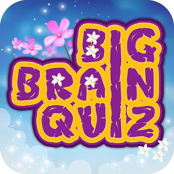 "Big Brain Quiz - The Most Famous Guessing  Game! - Warm up your brain with over 10,000 high-quality and challenging questions!Big Brain Quiz is a Trivia-based game where you have the ability to choose from a number of quizzes from different categories and answer questions from them.NEW: Now you can unlock the Mega Bundle at 50% discount.Features- Over 10 000 questions- 5 Game Modes – Classic, Quiz Master, Concentration, Backwards and Timeless- Hints to help you out- Colorful graphic themes- Fully accessible with VoiceOver- Social Integration with Facebook and Game CenterWhere is the deepest lake?Which animals hibernate in winter?Who is the director of ""Forest Gump""?Find the answers to these and a lot more questions from almost every field of knowledge.Improve your brain power in a race against time with more than 10 000 questions from different categories – Television, Celebrities, Video games, Entertainment, Movies, Music, Sports, Hobbies, Science, Technology, Literature, Humanities, History, Geography, Biology, ... and more.Not sure which is the right answer? No worries! Hints are always available for your convenience.Test your skills and compete against players from around the world via Game Center.Share your points with your Facebook friends.Our users says:Keeps your brain working!by IAm331\"