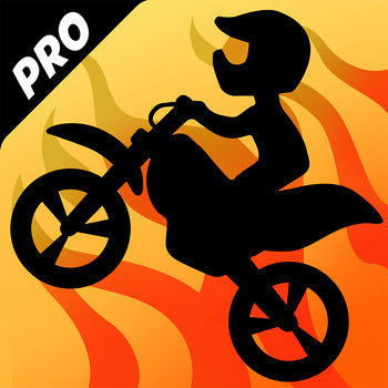 Bike Race Pro - Top Motorcycle Racing Game - Bike Race Pro version has:? BETTER graphics ? all levels unlocked? NO ADS Ride your bike through amazing tracks with jumps and loops in this simple and fast-paced physics-based game.Multiplayer! You can challenge your Facebook friends! Tilt your device to lean your bike and touch the screen to accelerate/brake. Features: - Single and multiplayer modes - Simple controls - All levels and Worlds already unlocked- 9 addictive worlds - 72 challenging tracks - Touch to accelerate, tilt to lean the bikeNote: On the user created levels section, if you want to play more than 3 featured levels per day, you will need to buy a level pack. You can play unlimited free levels created by you or your friends if you have the code. You can also play unlimited free levels shared publicly on the internet by other users. Levels can not be created on a mobile device. To create a level go to: www.bikerace.comBike Race Plus subscription- You can subscribe for unlimited multiplayer matches- Payment will be charged to iTunes Account at confirmation of purchase- Subscription automatically renews for the same price and duration period as the original \