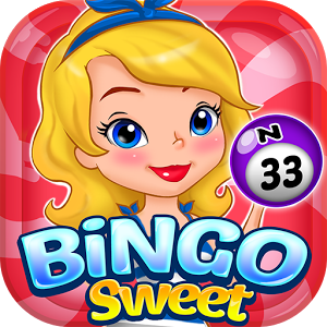Bingo Sweet - *** IT'S BINGO TIME!!! Try this NEW & EXCITING Bingo Game! ***Bingo Sweet is no ordinary bingo game where you just daub all the way to a one bingo, in this bingo game you can use unique power-items like up to 4 free daubs, extra chips & coins, instant bingo and many more to maximize your score! As you level up you can move around the world for more bingo rooms to visit with greater rewards and bonuses! Can you perfect all the cards in a round to achieve ultimate reward in a game? Try now and daub all the way to get a Perfect Bingo on this Bingo Sweet!* PLAY REAL-TIME BINGO *- You can play this FREE Bingo game on your smartphone anywhere and anytime LIVE with players in the world!* POWER-ITEMS *- Use power-items to increase your chance of getting a bingo and boost your scores to the maximum!* PLAY UP TO 8 CARDS *- You can play UP TO 8 CARDS can be played per round for mania!* CHANGE CARD DURING PLAY *- Having no luck on getting a BINGO? Now you can change your card during play for getting a better chance to get INSTANT BINGO!* PERFECT BINGO *- Can you perfect your score to get all BINGOS? Great Rewards for manias will be given to those who can PERFECT BINGO on each round! Mania players will love it!* COLLECT PUZZLES *- You can collect Puzzles through Treasure Chests in each Bingo rooms to receive EXTRA BONUS* ENJOY SWEET THEMES *- You can Unlock and Play SWEET THEMES with new collection items, goals and better rewards!