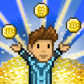 Bitcoin Billionaire - Quick! Sit down and start tapping!Bitcoin Billionaire is an idle clicker that\'s all about raking in bitcoins and building up a massive fortune! You start with almost nothing: a run-down office, a rickety old desk, a crummy computer. By tapping the screen you can mine virtual bitcoins and slowly increase your wealth. Spend digital dough to upgrade that awful furniture into swanky things like entertainment centers and priceless works of art. If you\'re smart (which, you are!), you\'ll spend some of that money on investments to help you earn while you\'re away. And don\'t worry, investments aren\'t as boring as in real life. How could robot butlers, virtual reality, and holographic dating be anything but awesome?Oh, and one more thing: there\'s time travel. When your tapping skills reach a critical point, you can actually rip through the fabric of space and time, jumping to a new era where you\'ll earn all new upgrades, unlock new achievements, and experience the thrills of bitcoin mining from a whole new perspective. If you thought tapping was fun in a comfy modern day office chair, just wait \'til you park your posterior in a finely crafted stone seat from prehistoric times!Features:- Supremely satisfying bitcoin tapping action!- Upgrade investments to earn bitcoins while offline.- Grab bonuses from special delivery drones.- Customize your character to mine in style.- Unlock achievements by being awesome.- Adopt a kitty! Or a robot! Or a T-Rex! Or something else, maybe!