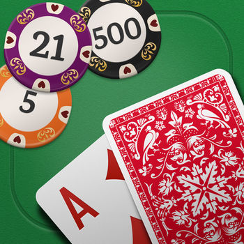 Blackjack ? - Welcome to the #1 Blackjack! Play as in real casinos and beat the dealer to win tons of dollars!Blackjack, also known as twenty-one, is the most widely played casino banking game in the world.RULES AND OPTIONSBlackjack is a card game between a player competing against the dealer. It is played with two or more decks of 52 cards.The object of the game is to beat the dealer in one of the following ways:- Get a BlackJack on the player\'s first two cards (21 points), without a dealer blackjack.- Reach a final score higher than the dealer without exceeding 21- Let the dealer draw additional cards until his or her hand exceeds 21.CASINOSTravel all around the world and play in the most popular casinos: - Casino of Las Vegas- Casino of Paris- Casino of Macau- Casino of London- Casino of Monte Carlo- Casino of The BahamasFEATURES- Blackjack pays 3:2 - Dealer must stand on a 17 and draw to 16- Insurance pays 2:1- Hit, Stand, Double Down, Split or SurrenderIMPORTANT NOTICEThis game contains an algorithm that strictly respects Blackjack rules. Cards are shuffled and dealt in the exact casino way to ensure a 100% fair gameplay.In-app purchases cost real money - be responsible when playing games including money. This Blackjack game is a gambling simulation game, it neither involves real money gambling, nor provides any means to win real money or prize.CONTACTPlease feel free to contact us at support@greenpandagames.com if you encounter any problem regarding this app.For the latest news and updates on Green Panda Games:LIKE us on Facebookhttps://www.facebook.com/Green-Panda-Games-1696022237280275/Follow us on Twitter@greenpandagamesVisit us at:http://www.greenpandagames.com