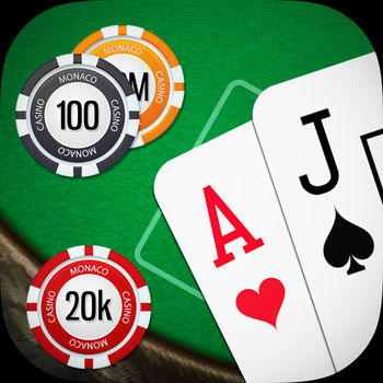 Blackjack - Play Blackjack as if you were at the casino! This is the MOST popular Blackjack game on the store, with millions of downloads. This is a free Blackjack game that you can play against the dealer. This is a free Blackjack game designed for both the iPhone and iPad. Play blackjack against the dealer and see who can get 21 without going bust! * Large high quality graphics * Easy to play * Tap chips, cards and table to play blackjack as if you were at the casino * Tap to split your cards * Win more chips when you get blackjack * Blackjack casino rules pays 3 : 2 * Insurance: pays 2:1 if the dealer has blackjack * Exchange chips for new table themes * Choose between different table themes We\'ve put effort into designing this Blackjack game just for the iPhone and iPad - there aren\'t any unnecessary buttons cluttering up the screen. The app to shows off the large cards and chips so that you can enjoy playing Blackjack with a clean design. In the game, you can unlock more stages when you win enough chips. If you\'re go bust don\'t worry, you get 100 chips free per hour so you can come back later and play more blackjack if your luck runs out. Please note, in app purchases cost real money - these can be disabled in the system preferences. We hope you enjoy playing Blackjack! If you have any questions or suggestions, please contact us using the app.