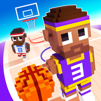 "Blocky Basketball - Endless Arcade Dunker - Grab your basketball and hit the court in an explosive retro arcade game! Pass it, hustle through rival players and rain buckets with over-the-top high flying slam dunks. The most fun you can have as a baller, combining realistic physics and hilarious cartoon-style animation.Boom goes the dynamite!FEATURES• Easy to play basketball fun• Retro style blocky graphics• Dazzling alley-oops and slam dunks• Adorable characters to collect• Different court surfaces to unlockThe latest in Full Fat's series of blocky games, from the makers of Blocky Football, introduces a new twist on the ""Blocky Sports"" formula. Focus on reflex passing, then score precision 3-pointers or spectacular alley-oops and dunk shots! How high can you score?facebook.com/fullfatgamestwitter.com/fullfatgameswww.fullfat.com"