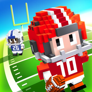 Blocky Football - Endless Arcade Runner - Grab your cleats and run like a beast in a fresh, fun football runner!Dodge the D, score a TD, kick the PAT. How high can you score?FEATURES• Easy to play football fun• Retro style blocky graphics• Lots of characters• Different playing fields & weather effects• Compete with friends• Free Gifts• Share your #Replayfacebook.com/fullfatgamestwitter.com/fullfatgameswww.fullfat.com