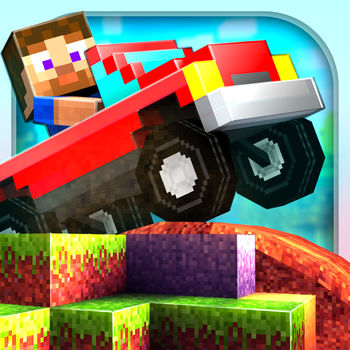 Blocky Roads - Jump into your car and discover green hills, snowy mountains and desert dunes in this unique blocky adventure! The tornado ripped your farm apart and scattered it around the Globe. Collect the missing parts to restore the farm to its former glory! **Choose one of the 9 cars or build your own block by block! The car editor unlocks after track 3 is finished!**\