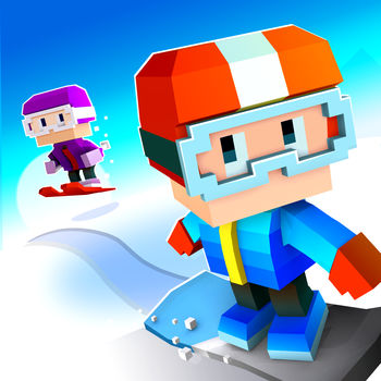 Blocky Snowboarding - Endless Arcade Runner - Hit the slopes and shred the fresh powder in a rad snowboarding runner!Carve, grind, jump, and grab big air with tricks and stunts! How high can you score?FEATURES• Easy to play snowboarding fun• Retro style blocky graphics• Lots of characters• Different snowboards to collect• Rare boarders with themed slopes• Compete with friends• Free Giftsfacebook.com/fullfatgamestwitter.com/fullfatgameswww.fullfat.com