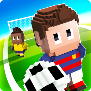 Blocky Soccer - The most fun you can have with a ball, combining realistic physics and humorous gameplay.