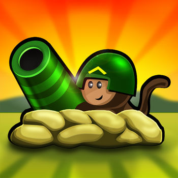 Bloons TD 4 - THE OFFICIAL BLOONS® TD 4 HAS ARRIVED ON THE ANDROID MARKET!The monkeys are getting serious and are ready to take down the enemy from the land, air and sea in the style of classic tower defense. Utilising a ranking system you can build up your experience and gain access to powerful towers and upgrades. Call in mortar strikes, deploy the monkey aces and harness the power of banana farms as you bid to take down the enemy in true bloon popping fashion.Bloons® TD 4 Android features a mix of classic tracks from the online game as well as a whole host of new tracks for you to master. The medal ranking system adds an extra level of difficulty to the challenge. Can you battle through all 75 rounds to earn the gold medal?Of course, even if you do, the fun doesn\'t stop there and you can continue the madness in freeplay mode. Discover how many rounds can you survive before the enemy overpowers you. Bloons® TD 4 has some special bonuses which you can discover and unlock by mastering the tracks!Features:-• All of your Bloons® TD 4 favourites, including the all powerful Sun God.• 15 different tracks.• 3 difficulty settings on each map, Easy, Medium and Hard for varying degrees of challenge.• Continue the popping frenzy in freeplay mode once you master a track.• Special bonus unlocks.