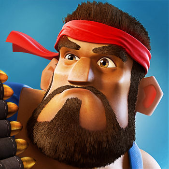 Boom Beach - Welcome to Boom Beach: come with a plan or leave in defeat!Fight the evil Blackguard with brains and brawn in this epic combat strategy game. Attack enemy bases to free enslaved islanders and unlock the secrets of this tropical paradise. Create a Task Force with players around the world to take on the enemy together. Scout, plan, then BOOM THE BEACH!PLEASE NOTE! Boom Beach is free to download and play. However, some game items can also be purchased for real money. If you don\'t want to use this feature, please disable in-app purchases in your device\'s settings.FEATURES- Play with millions of other players, raid hundreds of enemy bases for loot- Battle for control of precious resources to upgrade your base against enemy attacks - Explore a huge tropical archipelago and discover the mysterious power of the Life Crystals- Face fearsome Blackguard Bosses and uncover their evil plans- Join other players to form an unstoppable Task Force to take on co-op missionsUnder our Terms of Services and Privacy Policy, Boom Beach is allowed for download and play only for persons 13 years or over of age.Note: A network connection is required to play.Parent\'s guide:http://www.supercell.net/parentsPrivacy Policy:http://www.supercell.net/privacy-policy/Terms of Service:http://www.supercell.net/terms-of-service/Extra Builders have arrived! Extra Builders is a monthly subscription service that allows you to build or upgrade two buildings at the same time. Extra Builders cost 2.99 USD/month (or local equivalent).Extra Builders subscription will renew automatically unless auto-renew is turned off at least 24-hours before the end of the current period. Payment will be charged to iTunes Account at confirmation of purchase. Account will be charged for renewal within 24-hours prior to the end of the current period. Renewal costs 2.99 USD/month (or local equivalent).Subscriptions may be managed by the user and auto-renewal may be turned off by going to the user\'s Account Settings after purchase. No cancellation of the current subscription is allowed during active subscription period.