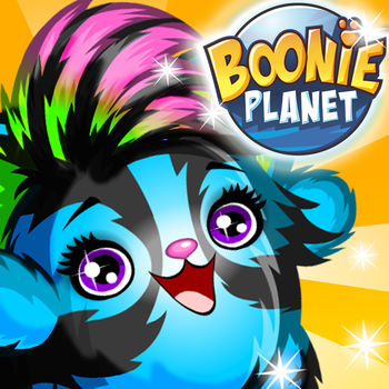 BooniePlanet - Explore a magical world where you collect adorable creatures called Boonies!Upgrade your Boonies and teach them new tricks! Feed them, wash them, and play with them to keep them happy! Create and customize your own family of Boonies and show them off to all your friends!Features- Create your very own unique Boonie avatar- Collect and raise a family of adorable creatures, try to collect them all!- Chat with friends in the chatrooms- Care for your family\'s needs and keep them happy: Feed them, wash them and play with them- Upgrade your Boonies and give them cool new and incredibly powerful skills- Dress your Boonies in an endless variety of outfits- Find and explore Boonie hideouts for awesome treasures- Explore a fantastic universe in HD!- Log in with your MovieStarPlanet account and interact with your friendsCompatible with: iPad2+, iPhone4+, iPod Touch 5g+, and up