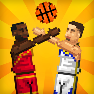 Bouncy Basketball - Bouncy Basketball is a one-button, 2D physics-based, pixel art basketball game.