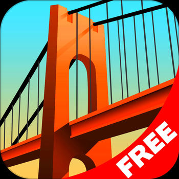 Bridge Constructor FREE - +++ Now over 30 million players worldwide +++  +++ Latest update with help function and refined grid system +++ +++ Number 1 in the games charts for iPad & iPhone in 33 countries +++               In Bridge Constructor you have to prove yourself as an accomplished master bridge builder. Play 40 different levels, and build bridges over deep valleys, canals, and rivers. Stress tests reveal whether the bridge you build can withstand the daily stress of continual use from cars, trucks and, more recently, super-heavy tank trucks. You can choose between a range of materials for each individual bridge, such as wood, steel, cables, or concrete pillars. Use the appropriate materials and stay within budget to build the perfect bridge. The choice of different materials means that there are numerous solutions and approaches and you can build each bridge in any number of ways – your budget is the only limit. The refined grid system allows you to realize your idea of the perfect bridge with even more precision. Let your imagination and creativity run free! And if you happen to run into a dead end, you can pick up valuable tips from the brand new help system! FEATURES: • 40 Levels on the island nation of Camatuga (Full Version)• Free build mode and help system • 5 Settings: city, canyon, beach, mountains, hills • Improved grid system • Map with unlocked worlds/levels • 4 different building materials: wood, steel, cables, concrete pillars • Color coded load indicator for different building materials • Three different load bearing levels: car, truck and tank truck • High score per level • Facebook connection (upload screenshots and bridge scores)