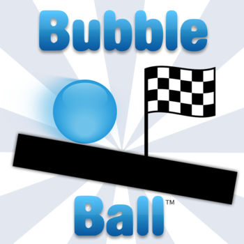 Bubble Ball - Bubble Ball has been downloaded over 16 million times!NEW! Community Levels - make your own levels for Bubble Ball, and play levels created by others!Go to naygames.com/create on your computer to get started making your own levels!Try this fun, new physics puzzle game, where you will test your ingenuity and thinking skills to get the bubble to the goal. Use the pieces and powerups provided, and come up with creative solutions! There are two types of pieces, wood and metal. Wood pieces are affected by gravity when you hit Start, while metal ones stay where you placed them. Use powerups to give the bubble speed boosts and even reverse gravity! Don\'t like the blue bubble? Make it a different color! Don\'t want to start at the beginning? You can skip around to your liking and jump right into the 156 available exciting levels (48 are free; then buy the full version of Bubble Ball for all 156). A great game to test your logical thinking skills, and to play whenever you\'re bored!
