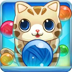 Bubble Cat - Bubble Cat Rescue, the more addictive bubble shoot game.