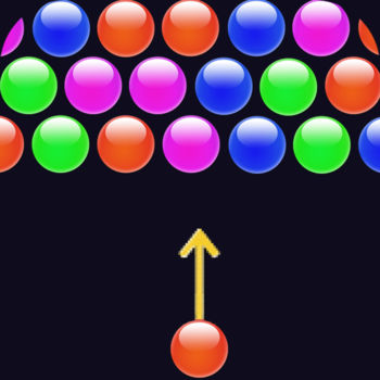Bubble Shooter Free - Enjoy hours of fun with this classic Bubble Shooter Game.Match 3 or more bubbles of the same color to make them disappear and get score points.The score you get increases with the number of bubbles you make disappear at the same time.The game includes different bonus bubbles for an enhanced strategic gameplay.Bonus bubbles:- 2x score, doubles the score you get when the connected bubbles disappear- 3x score, doubles the score you get when the connected bubbles disappear- score bonus, you get an additional score bonus- bomb, the surrounding bubbles explode- pause, the bubbles don\'t fall down anymore for some time- slow down, the bubbles fall down slowlier for some time- move up, all the bubbles move up one line