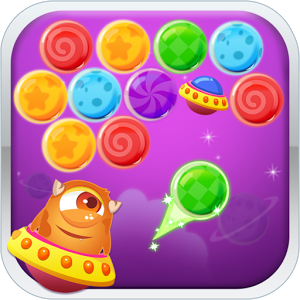 Bubble Shooter Galaxy - Description ? Download the AMAZING MATCH 3 Bubble game FOR FREE! ? Bubble Shooter Galaxy is the best bubble match game! Cute little monster and its spaceship have an adventure trip in this fantastic galaxy.