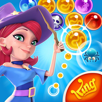 Bubble Witch 2 Saga - From the makers of Candy Crush Saga, Bubble Witch Saga & Farm Heroes Saga comes Bubble Witch 2 Saga!Stella and her cats need your help to fend off the dark spirits that are plaguing their land. Travel the realm bursting as many bubbles as you can in this exciting bubble shooting puzzle adventure. Win levels and free Witch Country piece by piece. Play this epic saga alone or with friends to see who can get the highest score!Bubble Witch 2 Saga is completely free to play but some optional in-game items will require payment.You can turn off the payment feature by disabling in-app purchases in your device's settings.Bubble Witch 2 Saga features:• The next exciting instalment to the Bubble Witch franchise • New and improved game modes• Enchanting graphics that will leave you spellbound• Hundreds of magical bubble shooting levels – more added every 2 weeks!• Easily sync the game between devices when connected  to the Internet• Leaderboards to watch your friends and competitors!• Collect stars to unlock special items to help you on your quest • Special boosters & bubbles to help you pass those tricky levels• Free & easy to play, challenging to master!• Available to play on iPhone and iPad devicesVisit https://care.king.com/ or contact us in game by going to Settings > Customer Care if you need help!Follow us to get news and updates;facebook.com/BubbleWitchSaga2Twitter @BubbleWitchSagahttps://www.youtube.com/user/BubbleWitchOfficialhttp://bubblewitch2saga.com/Have fun playing Bubble Witch 2 Saga!