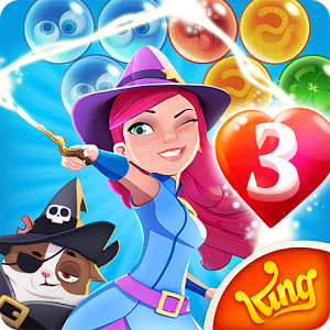 Bubble Witch 3 Saga - Bubble Witch 3 Saga - The brand new game in the popular Bubble Witch series.  Stella the Witch is back and she needs your help to defeat the evil Wilbur in this exciting adventure!  He may look cute, but he\'s full of magical mischief!  Travel the realm bursting as many bubbles as you can in this bubble shooting puzzle game.Take on this magical Saga alone or play with friends to see who can get the highest score!Bubble Witch 3 Saga is completely free to play but some optional in-game items will require payment.By downloading this app on your mobile you are agreeing to our terms of service: http://about.king.com/consumer-terms/termsBubble Witch 3 Saga features: The next exciting instalment to the Bubble Witch series of games• Match 3 bubbles to pop them in this magical shooting adventure • Spellbinding new game modes and cute characters!• Release the owls, free the ghosts and save the Fairy Queen from Wilbur!•  Personalisation features:  Build your house and visit your friends\' to get rewards • Special booster bubbles to help you pass those tricky levels• Easily sync the game between devices when connected  to the Internet• Leaderboards to watch your friends and competitors!• Free & easy to play, challenging to master!Visit https://care.king.com/ if you need help!Follow us to get news and updates:https://www.facebook.com/bubblewitch3sagahttp://www.youtube.com/c/Bubble_Witchhttps://www.instagram.com/bubblewitchsagaofficial/http://www.twitter.com/Bubble_WitchHave fun playing Bubble Witch 3 Saga!