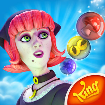 Bubble Witch Saga - From the makers of Candy Crush Saga & Farm Heroes Saga!Aim, fire and pop your way through this enchanting puzzle adventure.Fend off the dark spirits that are plaguing the country. Travel the realm and win each potion challenge to free the land piece by piece.Take on this epic journey alone or play with friends to see who can get the highest score! -----------------------------------This game is completely free to play, but some in-game items such as extra moves or lives will require payment.You can turn off the payment feature by disabling in-app purchases in your device's settings.-----------------------------------Features:? Enchanting graphics that will leave you spellbound? 3 friendly cats? Potions and charms to help with challenging levels? Bombs, spider webs, doom bubbles, locks, bonuses and lots more!? Collect stars to unlock special items to help you on your quest? Easy and fun to play, challenging to master? Hundreds of magical levels? Leaderboards to watch your friends and competitors!? Easily sync the game between devices and unlock full game features when connected to the Internet-----------------------------------Like us on Facebook or follow us on Twitter for the latest news.Last but not least, a big THANK YOU goes out to everyone who has played!*Minimum iOS version recommended: 4.3.5