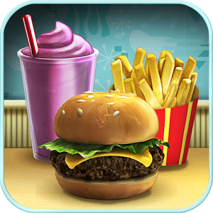 Burger Shop FREE - Make burgers, shakes and more in this Android™ version of this exciting food-making game that has been enjoyed by millions of fans on the PC/Mac and online.  After receiving a set of strange blueprints in the mail, you build an extraordinary food-making contraption and open a restaurant.  Your goal?  Make tasty food and satisfy your customers as you try to discover the truth behind the mysterious blueprints.  Burger Shop® is a fun and addicting time management game that features endless play.Get ready for food-making fun with Burger Shop!FEATURES:• 80 Story Levels and 80 Expert Story Levels!• Challenge Modes and Relax Modes!• 8 different restaurants!• Over 60 different food items! • 96 trophies to earn! • Unlimited play!Burger Shop offers endless play with four different play modes!GAME MODES:• Story Mode - Build your Burger empire and discover the secrets behind the mysterious BurgerTron!• Challenge Mode - Play lightning fast one-minute rounds - but don\'t lose a customer or it\'s all over!• Relax Mode - Serve food without any pressure or stress.   Customers are infinitely patient.• Expert Story Mode - So, you think you are the Burger Master?  Put your food-making skills to the test!Available in 12 languages:  English, German, Spanish, French, Italian, Dutch, Portuguese, Swedish, Russian, Japanese, Korean and Simplified Chinese.