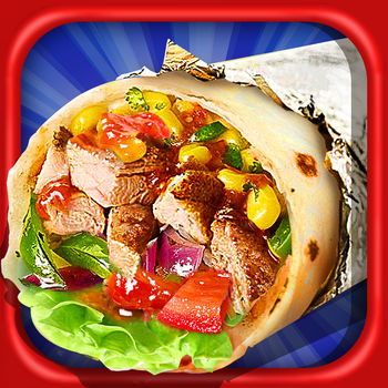 Burrito Maker - Take a trip to beautiful Mexico in this exciting burrito cooking game. Learn hundreds of Mexican recipes for tacos and burritos, as you explore the delicious bounty of flavors that the country has to offer. Mix up traditional burrito recipes using beans, cheese and beef. Prepare chicken tacos with hot salsa and juicy tomatoes. But don't stop there. Add onions, spices and herbs. Once you've mastered the classics, it's time to get crazy creative! Use hundreds of yummy ingredients to make countless combinations. Ever heard of a chicken wing taco? Well, now you can make one! Have fun trying various dressings and sauces. Don't be afraid to invent new tacos and burritos. The kitchen is all yours!Which ones will be your favorite? How many different tasty combinations can you create? With so many varied food items, you'll never get tired of making burritos in this wild game. Product Features: - Realistic photos of food - Exciting music- Hundreds of ingredients to prepare, mix and cook- Exciting fun for all ages How to Play: - Choose your ingredients from the pantry by selecting from pictures of real food- Add toppings, veggies and dressings- Roll your phone to roll your burrito! ------------------------------------------------------------------------------Visit our official site at http://www.crazycatsmedia.comFollow us on Twitter at https://twitter.com/CrazyCatsGameLike us on Facebook at https://www.facebook.com/Crazy-Cats-Media-Inc-1510884179162522For more information about Burrito Maker, please visit http://www.crazycatsmedia.com/burrito-maker-ios