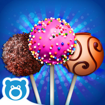 Cake Pop Maker by Bluebear - CAKE POPS! is the newest in BLUEBEAR's range of food-making games. Ever felt like makin' and bakin' your very own cake-pop creation? Now you can make as many as you like! Mix ingredients together, put them in the oven and bake them, throw on some goodies and gobble it up! You can also challenge your friends to make cake pops just as tasty as yours, or share your tasty creations! CAKE POPS! is the latest game in BLUEBEAR's collection, which includes other scrumptious games like Candy Bars!, Ice-Pops!, Slushies!, Ice-Cream! and many more, and have been downloaded 30 million times! Check them out today! IMPORTANT MESSAGE FOR PARENTS: - This App is free to play but certain in-game items may be purchased for real money. You may restrict in-app purchases by disabling them on your device.- By downloading this App you agree to Bluebear\'s Privacy Policy: http://www.bluebear.ie/privacy.html- Please consider that this App may include third parties services for limited legally permissible purposes.