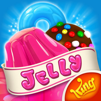 Candy Crush Jelly Saga - There\'s a new player in town, the wiggling, jiggling Jelly Queen and she\'s here to challenge you to a game of Candy Crush Jelly Saga!  Whatever your favorite moves, you better hope they\'re Jellylicious enough to take on the mighty Jelly Queen. The unstoppably spreadable game!  New Candy Crush Jelly Saga is full of delightful new game modes, features and boss battles featuring the Jelly Queen!  Playing as Jenny, show off your Jellylicious moves and take turns switching Candies against the jiggling Jelly Queen. Every sweet move will spread more Jelly and whoever spreads the most will win the level! Have you got the moves? There are splendid new Candies, a marvelous new booster and a dreamy treetop world to explore in the Candy Kingdom too! Take on this delightful Saga alone or play with friends to see who can get the highest score!Candy Crush Jelly Saga is completely free to play but in-game currency, to buy items such as extra moves or lives, will require payment with real money.You can turn off the payment feature by disabling in-app purchases in your device's settings.Candy Crush Jelly Saga features:• Over 500 Jellylicious Levels       • New Jelly Queen Boss Modes       • Marvelous game modes including: Spread the Jelly & Release the Pufflers      • Tasty new Color Bomb Lollipop booster    • Mezmerizing new Candies      • Dreamy new treetop world and a host of quirky characters led by the Jelly Queen and her stooges.  * Easy and fun to play, yet challenging to fully master* For players that Facebook Connect, there are leaderboards for you and your friends to compare your Jellylicious scores* Easily sync the game between mobile and tablet devices and unlock the full game features when connected to the internet    Now you can express yourself, jelly-style! Be sassy like the Jelly Queen or cool like Cupcake Carl with our sweet Candy Crush Jelly Stickers! Tasty animated GIFs within iMessage, available for iOS 10 users only!Already a fan of Candy Crush Jelly Saga? Like us on Facebook or follow us on Twitter for the latest news:https://www.facebook.com/CandyCrushJellySaga/https://twitter.com/candycrushjellyLast but not least, a big THANK YOU goes out to everyone who has played Candy Crush Jelly Saga!
