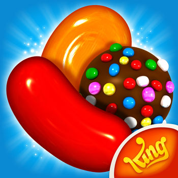 Candy Crush Saga - Candy Crush Saga, from the makers of Candy Crush Soda Saga & Farm Heroes Saga!Join Tiffi and Mr. Toffee on their sweet adventure through the Candy Kingdom. Travel through magical lands, visiting wondrous places and meeting deliciously kooky characters! Switch and match your way through hundreds of fun levels in this delicious puzzle adventure. The sweetest game just keeps getting sweeter!Take on this deliciously sweet Saga alone or play with friends to see who can get the top score! Candy Crush Saga is completely free to play but some optional in-game items will require payment.By downloading this game you are agreeing to our terms of service; http://about.king.com/consumer-terms/termsCandy Crush Saga features:● Tasty ways to play: Target Score, Timed Levels, Drop Down Mode and Order Mode● Collect sugar drops to progress along the Sugar Track for super sweet surprises!● Spin the Daily Booster Wheel for a delicious prize● Pass level 50 to unlock Dreamworld and escape reality with Odus the Owl● Unwrap delicious environments and meet the sweetest characters● Tasty Candies, wrapped and striped Special Candies, Color Bombs and various other magical boosters to help with challenging levels● Hundreds of the best levels in the Candy Kingdom with more added every week for your entertainment● Leaderboards to watch your friends and competitors!● It\'s easy to sync the game between devices and unlock full game features when connected to the InternetVisit https://care.king.com/ if you need help!Follow us to get news and updates;facebook.com/CandyCrushSagaTwitter @CandyCrushSagahttps://www.youtube.com/user/CandyCrushOfficialhttp://candycrushsaga.com/Have fun playing Candy Crush Saga!