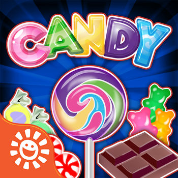 Candy Maker Games - Crazy Chocolate, Gum & Sweets - Now make 18 sweet & yummy, crazy candy.  Be an awesome food chef - make every candy with fun machines, chocolate, bubble gum and more!  Sour strips and fruity bursts just added.  Sour Strips -  A touch of tangy with the sweet of sugar!  Make some now!  So yummy and fun.    Fruity Bursts - Choose a fruit snack flavor and fill it put with juice!  Don\'t let it burst! Candy Bars - Add layer after layer of goodness such as chocolate, peanuts, toffee, crunchy almonds and more.  Delicious! Bubble Gum - mix up a batch of your favorite flavor of gum, chew it and blow bubbles, bigger and bigger until they pop! Gummies - Pick a flavor and create gummies in your favorite shapes...worms, fish, bears and many more!Lollipops - mix up candy and pick a stick to create the lollipop of your dreams!  Don't forget about all of these other fun candy machines -- Hearts, Chocolates, Candy Canes, Candy Corns, and more!  ABOUT SunstormSunstorm is the pioneer of the popular \