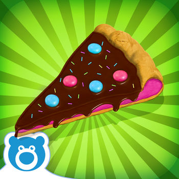 "Candy Pizza Maker! by Bluebear - Love Chocolate? Love Pizza? You'll love ""Chocolate Pizza!"" The wait is over…Chocolate Pizza! has arrived to the AppStore! From the makers of ""Cotton Candy!"" and ""Toasted Marshmallows!"" comes the Chocolate Pizza Maker App. Forget other regular Pizza apps and make your first very own yummy Chocolate Pizza. First, choose the base you want for your pizza. There are lots of options, from sponge cake to chocolate chip cookie dough. Once you picked your base, get ready with your ingredients, cause its baking time! Now, when you've finished baking... its time to decorate! Add chocolate flavors to your Pizza and choose from loads of delicious Sweets and fun Sprinkles to make your Chocolate Pizza even tastier. And if that's not enough, play the mini games, Slice the Pizza to improve your PIZZA SLICING skills! AND \'Animal Match\' to improve memory.If you liked our other apps Ice Pops! and Cake Fun! you will love this yummy Pizza app. So what are you waiting for, Start making Chocolate Pizza today!-Bluebear Promise-With one purchase you will UNLOCK EVERYTHING (all items) in the game and you will never be charged again. This single purchase will also remove ads and give you free updates forever!IMPORTANT MESSAGE FOR PARENTS: - This App is free to play but certain in-game items may be purchased for real money. You may restrict in-app purchases by disabling them on your device.- By downloading this App you agree to Bluebear\'s Privacy Policy: http://www.bluebear.ie/privacy.html- Please consider that this App may include third parties services for limited legally permissible purposes."