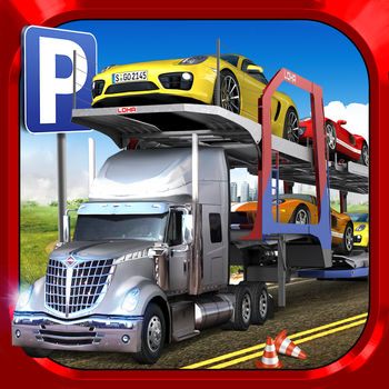 "Car Transport Truck Parking Simulator - Real Show-Room Driving Test Sim Racing Games - Take command of three unique Car Transporter Trucks and deliver the shiny new cars safely to the Car Dealer, or to the Workshop for essential repairs and maintenance!++ THREE MEGA CAR TRANSPORTER TRUCKS, INCLUDING…TOW TRUCK 1) The fastest way to get a car moved from A to B and a good training car for getting used to safe driving with a long load.2) FLATBED TRANSPORTERThe next step up in your Delivery Driver career puts you in charge of the bigger and longer Flatbed Transporter. Double the cars to carry = double the responsibility!3) DOUBLE DECK TRANSPORTERThe ultimate truck for the ultimate trucker! If you crash this thing you're going to cause a lot of expensive damage to all the new cars loaded on the back! It's long, it's powerful and it's tricky to drive, so take care!++ DETAILED INNER-CITY MAPDiscover the city through the eyes of a Car Delivery Trucker! Explore the many locations and park safely in the required places to pass each mission.Make your way around the city in style and take the corners perfectly for the smoothest ride.++ YOUR TRUCKER CAREERFeel the pressure of delivering these valuable cars on time and in perfect condition for the best rewards in tons of fun Delivery Missions!Do you have what it takes to be the best Delivery Trucker?From the creators of ""The Best Parking Games on the App Store"" (a comment given by many of our happy players!). See our other games for many more exciting Parking Simulator games!GAME FEATURES	? 3 Mega Car Transporters: Tow Truck, Flatbed Transporter and Huge Double-Deck Car Transporter Truck! ? Detailed Inner-City map with loads of locations to discover and jobs to do!? Feel the pressure of delivering these valuable cars on time and in perfect conditions! Do you have what it takes to be the best Delivery Trucker?? 100% Free-2-Play Game? Customisable control methods (buttons, wheel, tilt)? Easy Modes available (with separate leader boards) as optional in-app purchases for an easier ride!? iOS Optimisation: runs perfectly on anything from the original iPad 1, iPhone 4 and 4th Gen iPod Touch to the latest 5th Generation widescreen devices."