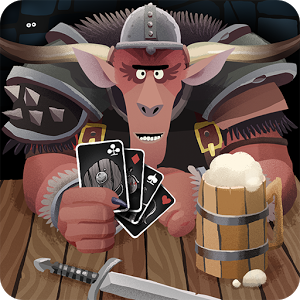 Card Crawl - *** Pocket Tactics - Card game of the year 2015 ****** Pocket Tactics - Reader\'s Choice game of the year 2015 ****** Pocket Tactics - Editor\'s Choice game of the year 2015 ****** German Games Award - Nominated for best game design 2016 ***Clear the Dungeon of 54 cards by using item-cards, slaying monsters and managing your limited inventory. Each run you can use 5 ability-cards (mini deck building) which will give you unique skills. By collecting gold you can unlock the first 10 ability-cards which enable new tactics and even better highscores. By buying the full game you can unlock 20 additional cards with even better abilities.Card Crawl's 4 single player game modes are enhanced via Google Play services to compare scores and the associated decks created by each player. A typical game can be played within 2-3mins and is a perfect one more game experience while waiting in line or commuting.Free to tryThe game is free to try. The free version includes 10 ability cards, the Normal-Mode and the Google Play service highscores. In order to access all of Card Crawls features and modes you can unlock the game by paying an one time in App purchase.Features+ solitaire style gameplay+ 4 game modes (Normal & Constructed, Daily & Streak)+ 25 unlockable ability-cards+ mini deck building+ Google Play services integration to compare highscores and decks+ tricky Achievements+ 2-3mins playtime per gameLearn more about Tinytouchtales & Card Crawl at www.cardcrawl.com